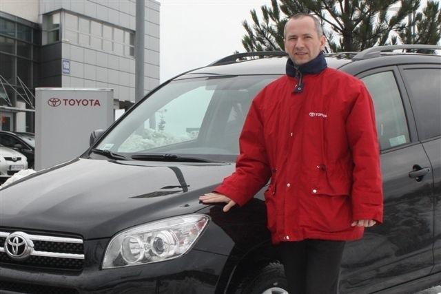 Toyota dysponuje dwoma modelami aut osobowych posiadających homologacje ciężarowe - mówi Romuald Niziołek, kierownik działu sprzedaży Toyota M. Romanowski w Kielcach.