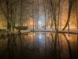 Zimowy Poznań nocą zachwyca. Zobaczcie! [ZDJĘCIA]
