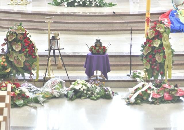 Pogrzeb Jerzego Vietha w Radomiu. Urna z jego prochami spoczęła na cmentarzu przy ulicy Limanowskiego.
