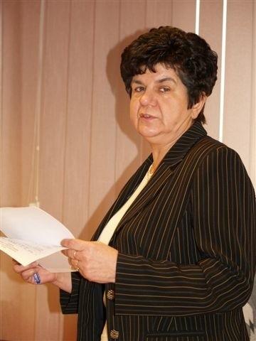 Prezes PWiK Teresa Jastrzębska nie mogła radnym obiecać, że za rok podwyżki nie będą tak drastyczne