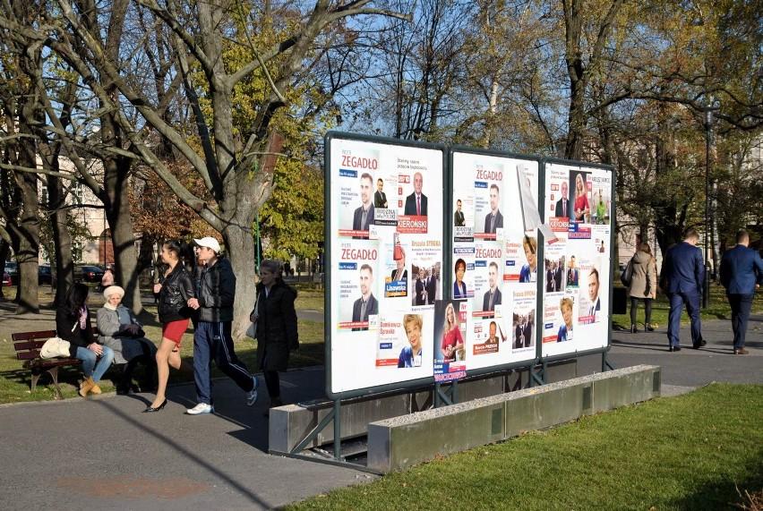 Wybory 2014 W Lublinie Kandydaci Plakaty Wieszają Jak Chcą