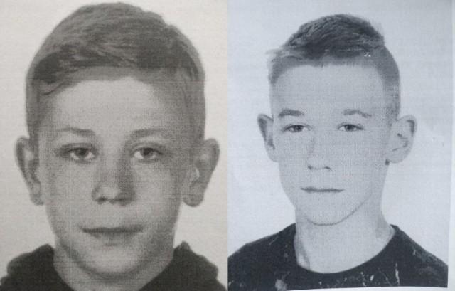 Zaginieni  Adam Wiśniewski i Mateusz Sałacki