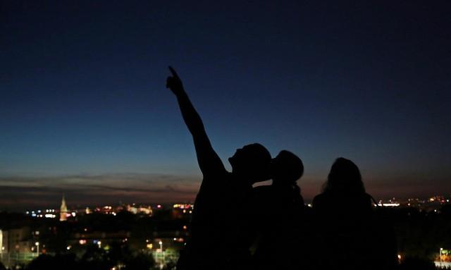 Perseidy 2020 - noc spadających gwiazd