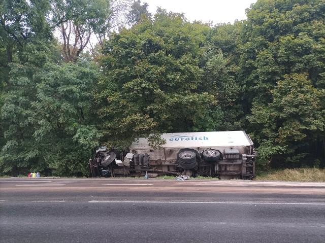 Do wypadku w Szabdzie doszło w czwartek, 16 września ok. g. 12.00