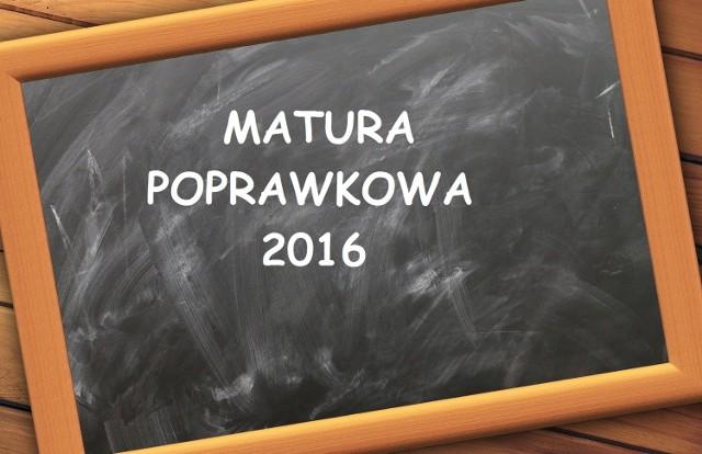 Odpowiedzi i arkusze matury 2016 [POPRAWKA z MATEMATYKI] opublikujemy w serwisie EDUKACJA.