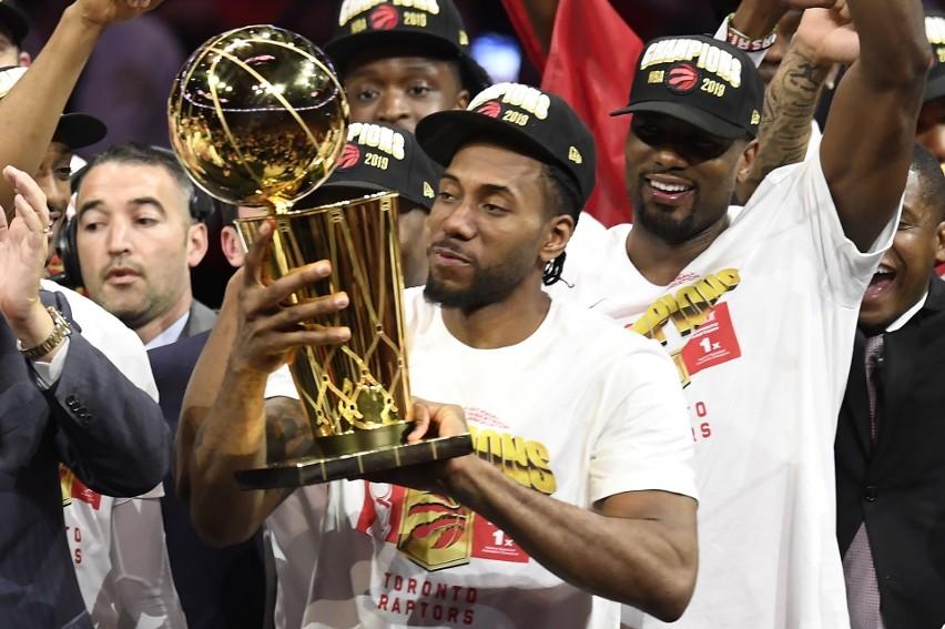 Kawhi Leonard został drugi raz w karierze MVP finałów.