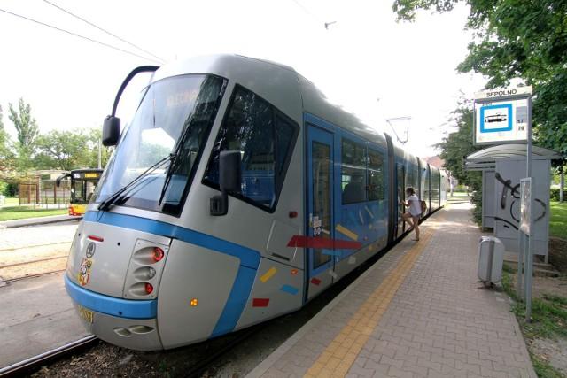 Tramwaje linii 33, 9 i 17 nie dojadą na pętle na Sępolnie.