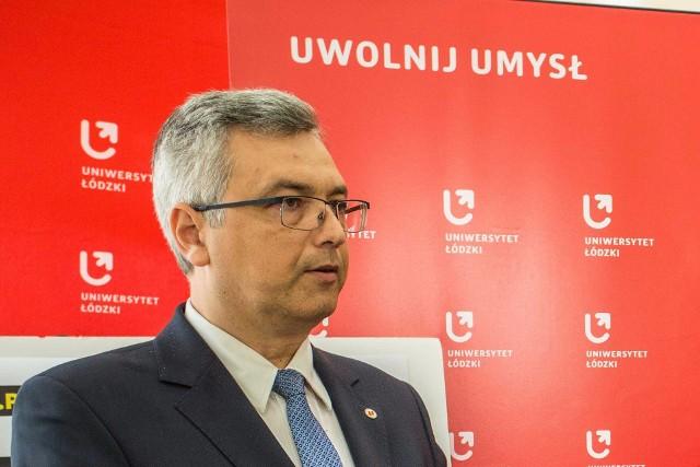 Prof. Sławomir Cieślak, wybitny prawnik i obecny prorektor UŁ ds. kształcenia, ogłosił start w wiosennych wyborach na rektora UŁ w kadencji 2020-2024.