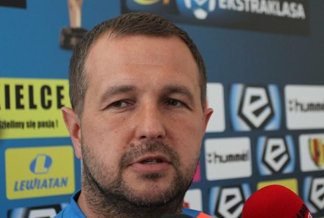 Tomasz Wilman, trener Korony.