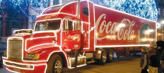 Rok temu konwój Coca Coli przejechał przez Gdańsk.
