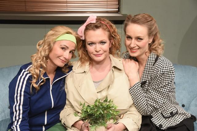 """W sztuce Amelii Bullmore """"Di Viv Rose"""" zobaczymy Joannę Brodzik, Darię Widawską i Małgorzatę Lipmann."""