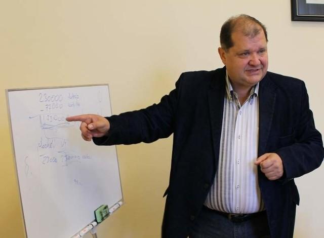 Wojciech Huczyński burmistrz Brzegu.