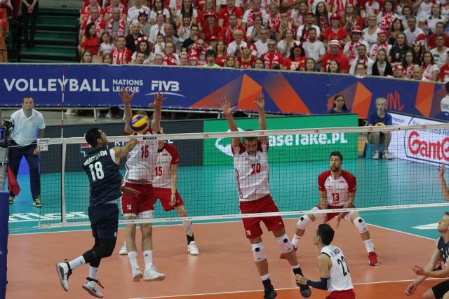 Polska pokonała USA 3:2 w katowickim Spodku