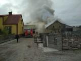 Koniecbór. 51 ratowników walczyło z wielkim pożarem (zdjęcia)