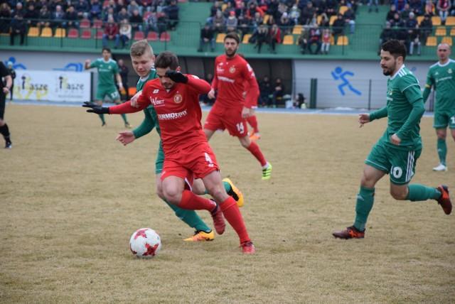 Tak Widzew Łódź wygrał w Sieradzu z Wartą mecz III ligi