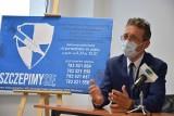 Miesiąc szczepień w Inkubatorze Przedsiębiorczości w Sępólnie. Dr Michał Bryczkowski: - Każda szczepionka jest dobra. AstraZeneca też!