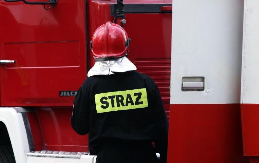 Strażacy z województwa lubelskiego wspierają pogorzelców z Nowej Białej