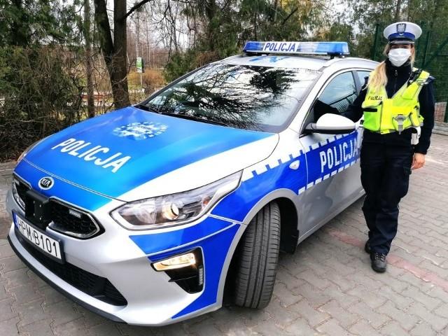 Nowy radiowóz hajnowskiej policji