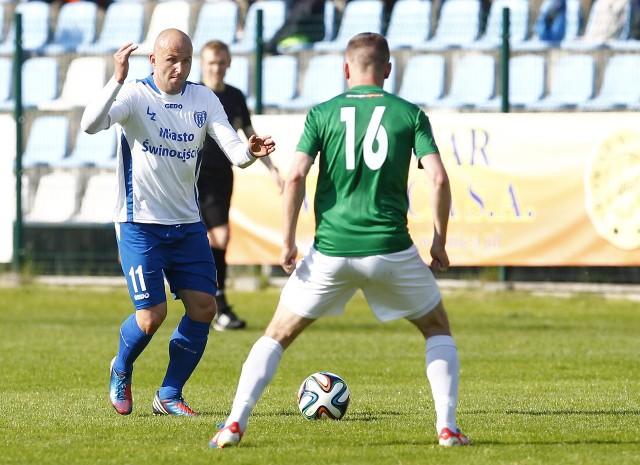 Rafał Grzelak należał do najlepszych zawodników na boisku w meczu z Arką.