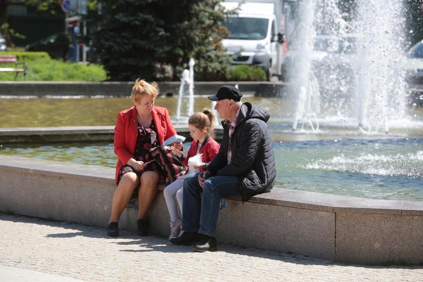Piknik na Jasnych Błoniach w Szczecinie dla małej Ingi, która cierpi na SMA