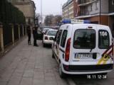 Ulica Sobieskiego. Straż miejska wypisuje mandaty (zdjęcia)