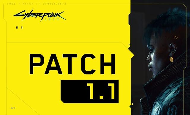 Cyberpunk 2077 patch 1.1 już dostępny