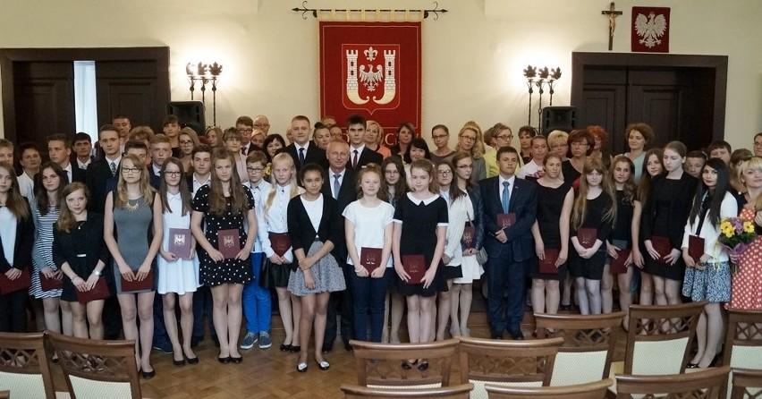 Nagrody dla zdolnych inowrocławskich uczniów
