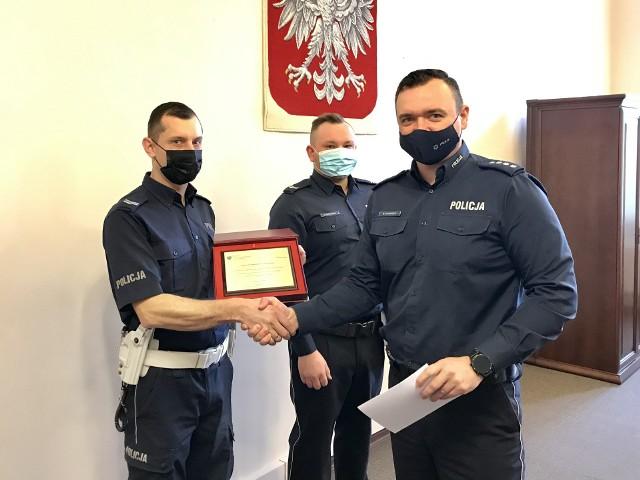 Koszalińscy policjanci wyróżnieni przez Ministra Spraw Wewnętrznych i Administracji