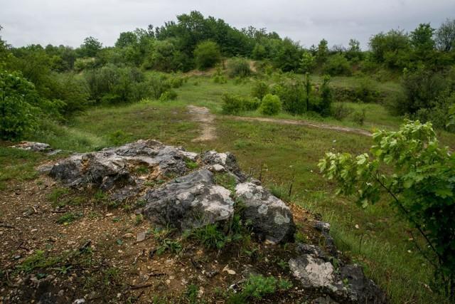 Rejon Zakrzówka, pomiędzy ulicami św. Jacka i Wyłom, gdzie utworzono użytek ekologiczny