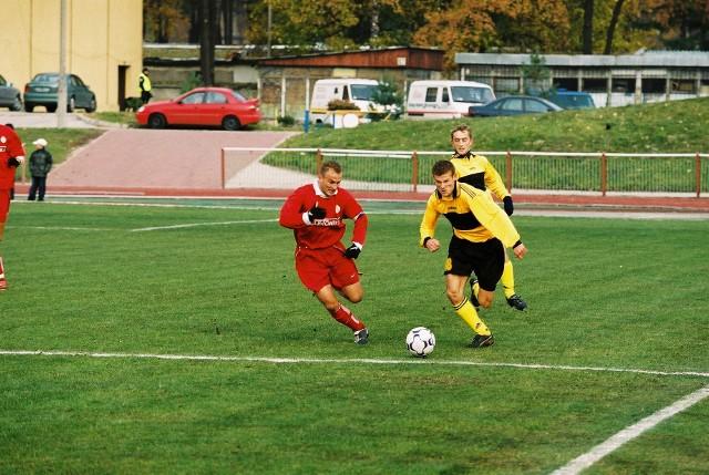 Wisła II Kraków - Górnik Wieliczka (26 października 2003 r.)