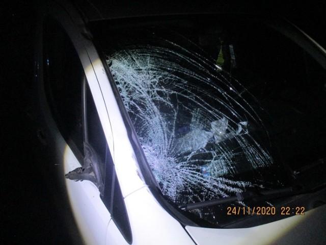Śmiertelne potrącenie pieszego na drodze Łubowo – Falkowo. Nie miał odblasków