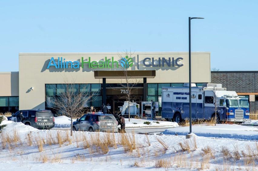 USA. Strzelanina w klinice zdrowotnej w Buffalo w Minnesocie. Cały czas nieznana jest liczba rannych osób