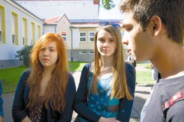Od lewej: Monika, Kasia i David zgodnie przyznają, że przyjaźnie, które zawarli w czasie Comeniusa to dla nich cenna rzecz.