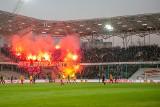 Korona Kielce - Górnik Zabrze 0:0 ZDJĘCIA KIBICÓW Ponad 1500 fanów dopingowało zabrzan w Kielcach