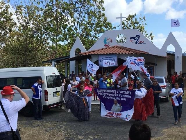 Młodzież z diecezji kieleckiej z kapłanami jest już w Panamie. Została przyjęta ciepło i niezwykle serdecznie.