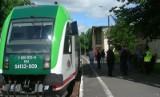Pociąg Hajnówka - Białowieża 2014: Autobus szynowy dojechał do stacji Białowieża Towarowa (zdjęcia)
