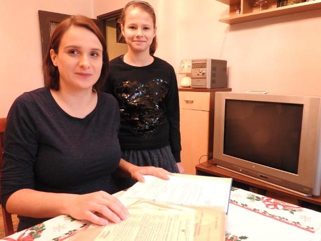 Katarzyna Cieciorko jest w ciąży. Ma być eksmitowana z mężem i 10-letnią córką