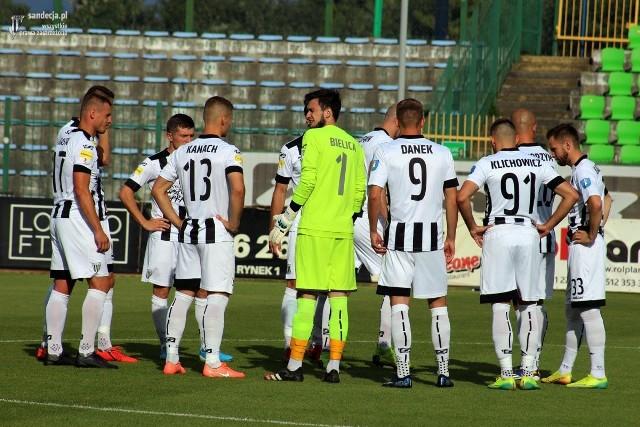 Piłkarze Sandecji wywalczyli utrzymanie w 1. lidze, co jest ich największym sukcesem w tym sezonie