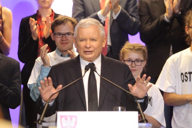 Wybory Samorządowe 2014: Jarosław Kaczyński na konwencji PiS w Poznaniu [ZDJĘCIA]