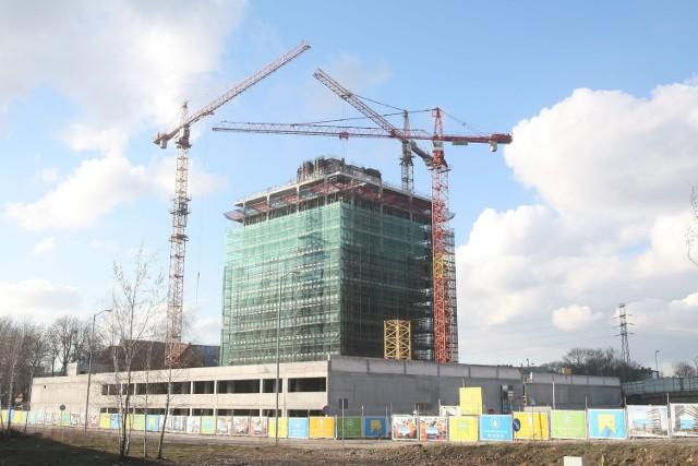 Budowa Silesia Business Park w Katowicach