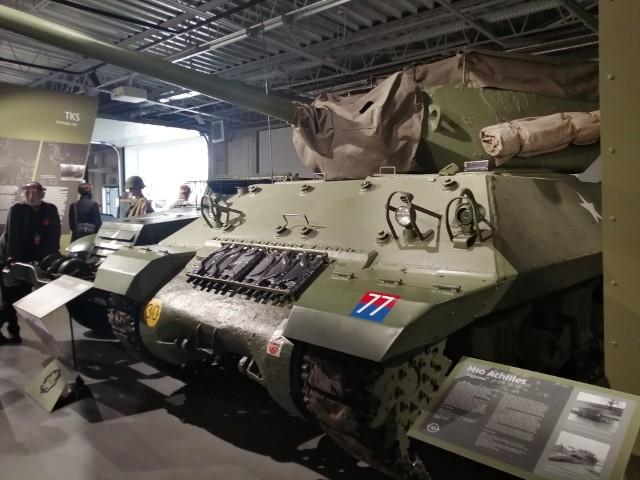 Niszczyciel czołgów M10, odrestaurowany w Poznaniu, trafił do Muzeum z Belgii.Kolejne zdjęcie -->