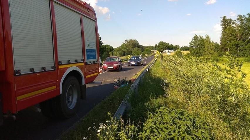 Wypadek w Chmielewie, 26.06.2020