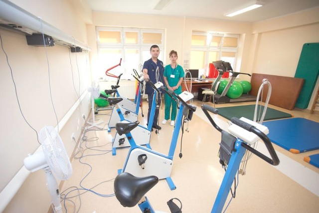 Pacjenci, którzy przeszli COVID-19 mogą zgłaszać się na bezpłatna rehabilitację w szpitalu w Słupsku