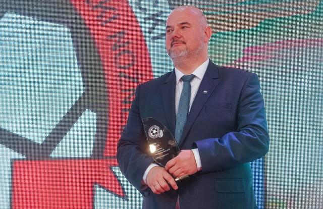 Prezes Stali Mielec Jacek Orłowski