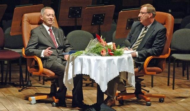 Mirosław Mikietyński i Bogdan Gutkowski.