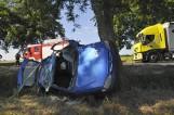Choryń - Katarzynin: Wypadek na drodze do Kościana. Trzy kobiety zostały ranne [ZDJĘCIA]