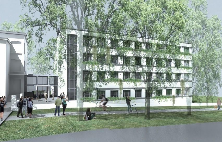 Rozpoczęła się rozbudowa Uniwersytetu Przyrodniczego w Poznaniu [WIZUALIZACJE]