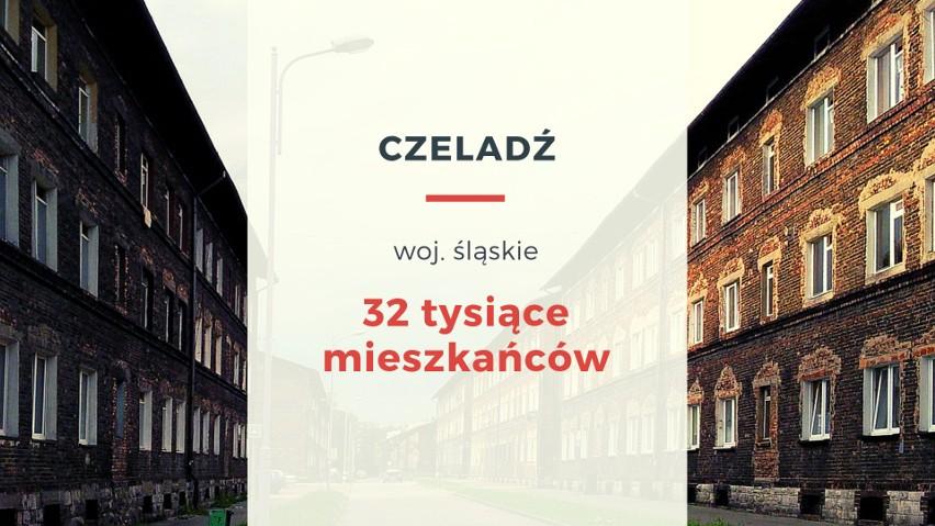 Licząca ok. 32 tysiące mieszkańców Czeladź (śląskie) to...
