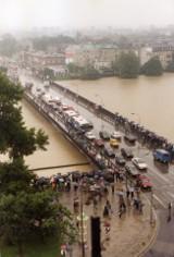 Powódź tysiąclecia w Małopolsce. Tak wyglądał Kraków i inne miejscowości w lipcu 1997 roku [ZDJĘCIA ARCHIWALNE] 22.07.2021