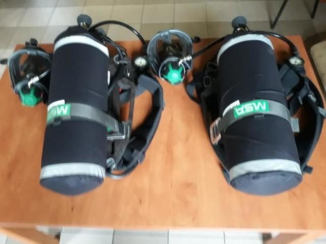 Ochotnicza Straż Pożarna w Kowali nabyła dwa aparaty powietrzne.